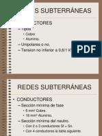 REDES SUBTERRÁNEAS REBT