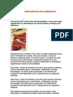 A Carne Deve Fazer Parte de Uma Alimentação Saudável - Alimentos - Nutrição - Metabolismo - Saúde