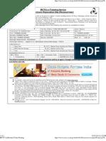 IRCTC Ltd,Booked Ticket Printing 4 EEEE