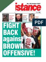 Socialist Resistance October '07