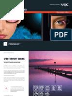 NEC Brochure Spectra View Series