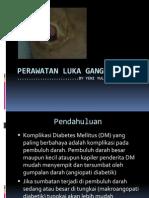 Perawatan luka gangren