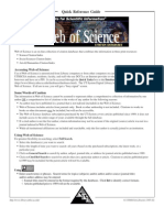 Web of Science Quick Reference Guide