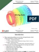 Fluent v6.1.11.Movingzones