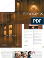 Brookings Institute brochure