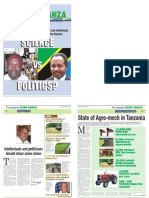 Kilimo Kwanza - The Guardian - 22nd Febuary 2010