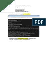 Instalación de servicio DNS en Debian 6