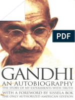 Gandhi an Autobiography_ the Story of My Experiments With Truth