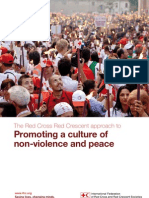 Promoting a culture of non-violence and peace