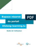 Lifelong-learning.lu - Guide de l'utilisateur