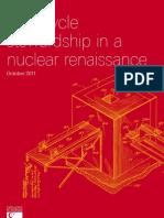 Fuel Cycle Stewardship Nuclear Renaissance