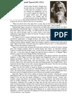 Rabindranath Tagore - (1861-1941)