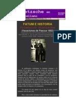 Fatum e historia