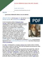 Liste Des Œuvres de Reference Pour Les Arts Visuels - 2