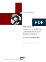 SAP Auto-ID Infrastructure Device Controller Interface (SAP AII-DC 5[1].1) Documentation