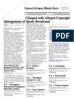 November 16, 2011 - The Federal Crimes Watch Daily