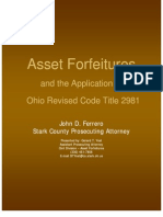 2011 Law Enforcement Conference Presentation - Asset Forfeiture