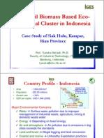Biomass Sawit Untuk Kluster Eko-Industri - Riau