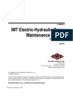 IMT Electric Hydraulic Maintenance Manual