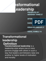 Transformational Leader Ppt