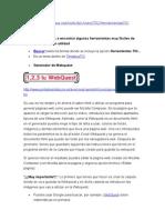 Generador de Webquest