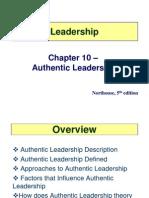 10 Authentic Leadership