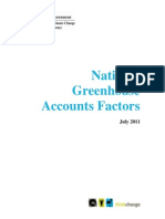 National Greenhouse Accounts Factors July 2011