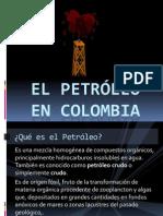 El petróleo en Colombia