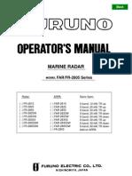 FAR-FR2805 Operator's Manual x2