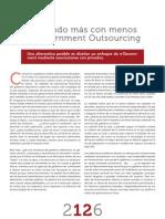Revista 1024 - Haciendo más con menos, e-Government Outsourcing