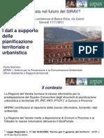 I dati a supporto della pianificazione territoriale e urbanistica