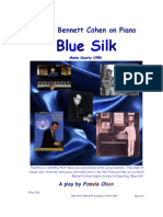 David Bennett Cohen's Blue Silk on Piano