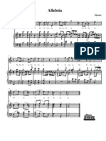 Alleluia (C) Mozart