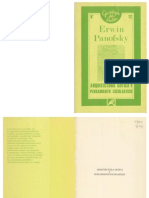Arquitectura gótica y pensamiento escolástico, Erwin Panofsky