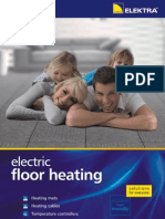 Floor Heating Elektra