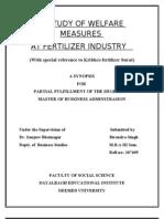Welfare Final Report