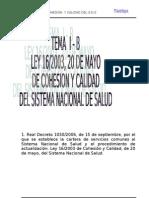 B Ley de Cohesion