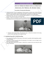 6492097 Soft Tissue Manipulation for SI Joint Dysfunction