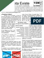 periodico 15M Isleta