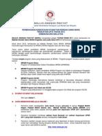 an Kemasukan Ke Maktab Rendah Sains MARA (MRSM) Tingkatan 1 Tahun 2012 Semenanjung
