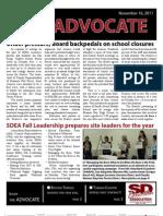 November 2011 Advocate