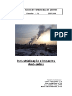 Industrialização e Impactes Ambientais