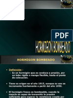 HORMIGON BOMBEADO