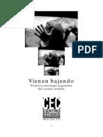 Vienen bajando - Primera Antología Argentina de Cuento Zombie - AA. VV.