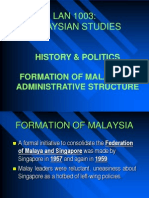 Chapter 1.4 - Formation of Malaysia