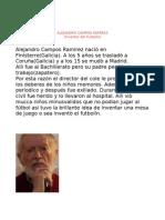 ALEJANDRO CAMPOS RAMIREZ