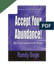 Abundance e Book
