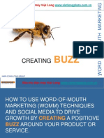 Create Buzz - Word of Mouth Marketing Techniques WOMM