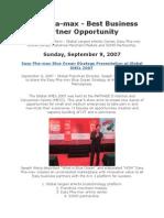 SME Exhibition News Release