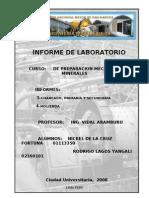 Preparacion Mecanica de Minerales